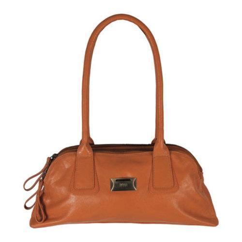 Women's Latico Louise Coinkeeper Shoulder Bag 7614 Saddle Leather