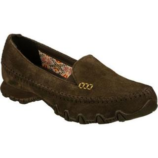 Women's Skechers Relaxed Fit Bikers Pedestrian Brown