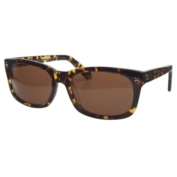 Derek Cardigan Sun 7003 Green Tortoiseshell Sunglasses