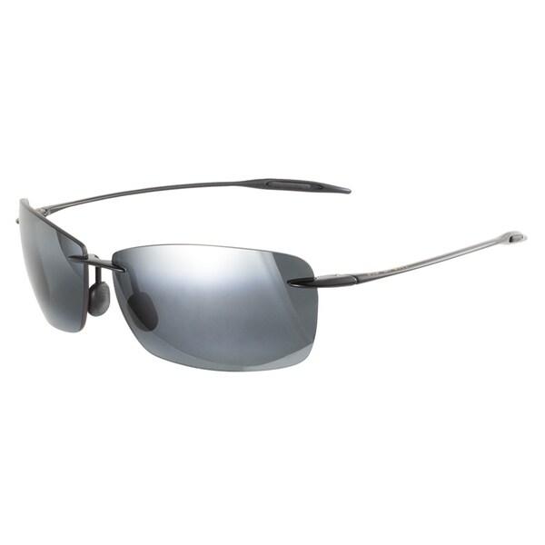 Maui Jim Lighthouse 423 02 Gloss Black 65 Sunglasses