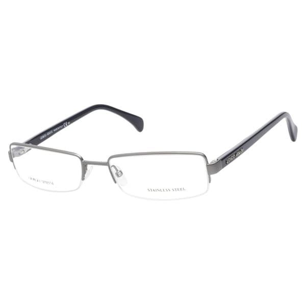 e10d751e6c57 Giorgio Armani GA867 O4P Matte Dark Ruthenium Prescription Eyeglasses
