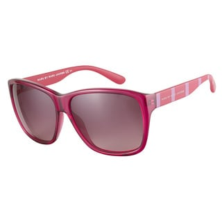 Marc by Marc Jacobs MMJ331S XZ9 3X Plum Red Pink Striped 59 Sunglasses
