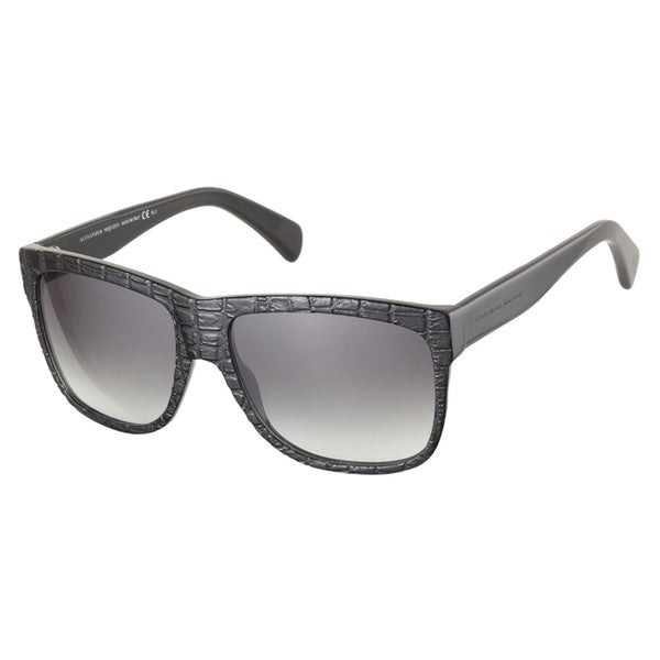 Alexander McQueen AMQ4194S 807 JJ Black 56 Sunglasses