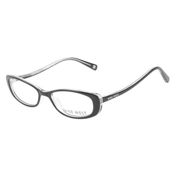 5f753abf841 Shop Nine West NW5019 012 Black Crystal Prescription Eyeglasses ...