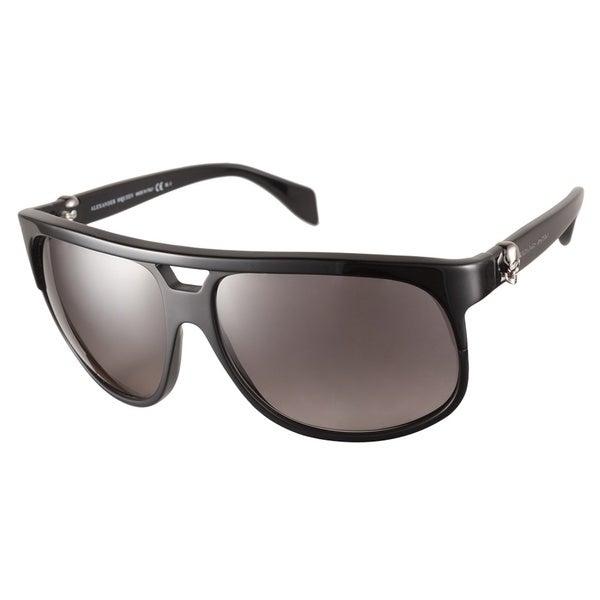 Alexander McQueen AMQ4195S 807 EU Black Sunglasses