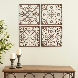 Square Metal Wall Decor (Set of 4)|https://ak1.ostkcdn.com/images/products/8635876/P15899255.jpg?_ostk_perf_=percv&impolicy=medium