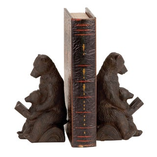 Reading Bear Bookends (Set of 2)
