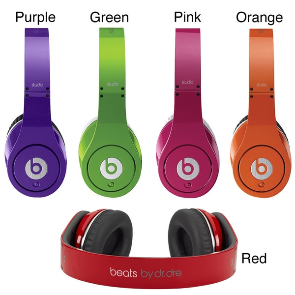 Beats Studio by Dr Dre High Definition Isolation Headphones