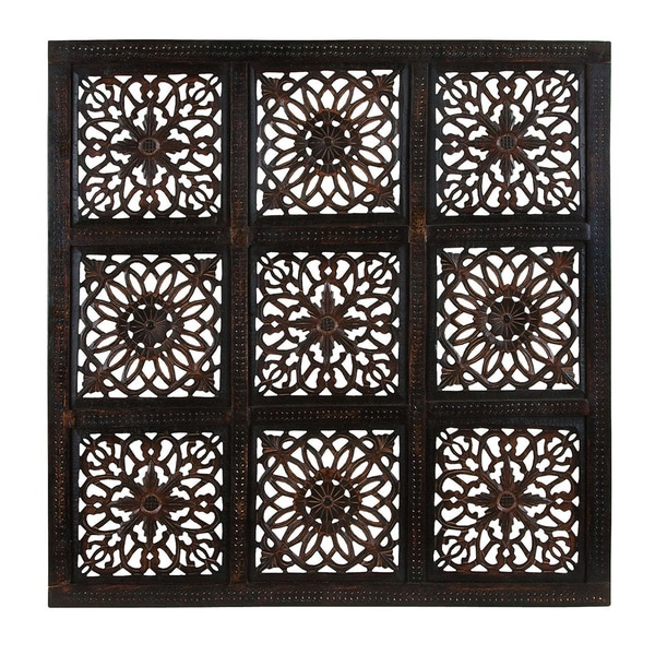 Wooden Classy Abstract Rustic Wall Panel