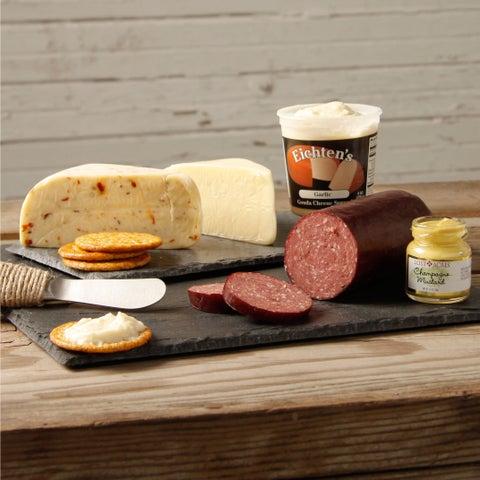 Eichten's Artisan Cheese and Summer Sausage Snack Box Assortment