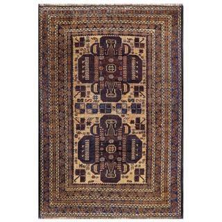Handmade Balouchi Wool Rug (Afghanistan) - 3' x 4'4