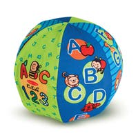 Melissa & Doug 2-in-1 Talking Ball - Multi-color