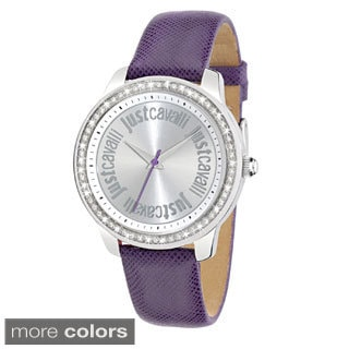 Just Cavalli Women's Shiny Genuine Leather Watch