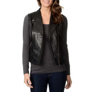 Whet Blu Women's Motorcycle Leather Vest