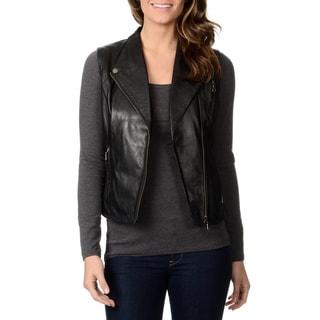 Whet Blu Women's Motorcycle Leather Vest (Option: 2x)