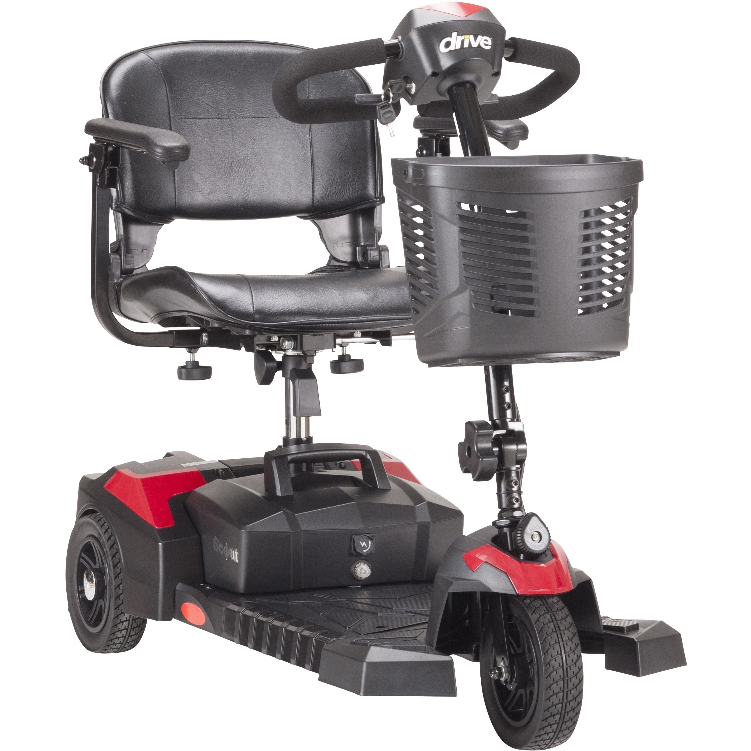 Drive Medical Scout 3-wheel Travel Power Scooter (standar...