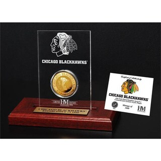 Chicago Blackhawks Etched Acrylic Desktop