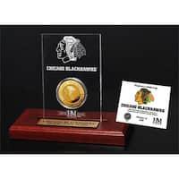 Chicago Blackhawks Etched Acrylic Desktop
