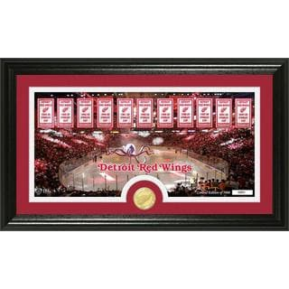 Detroit Redwings 'Tradition' Minted Coin Pano Photo Mint