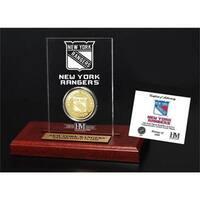 New York Rangers Etched Acrylic Desktop