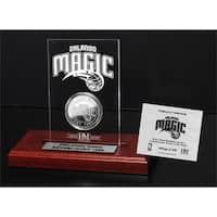 Orlando Magic 24k Gold Coin Etched Acrylic