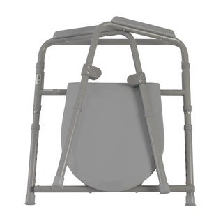 Drive Medical Steel Folding Bedside Commode