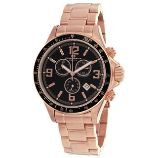 Oceanaut Men's Baltica Black/ Rose Watch