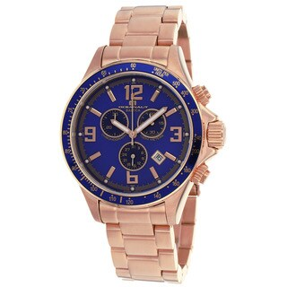 Oceanaut Men's Baltica Blue/ Rose Watch
