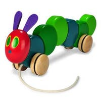 Eric Carle The Very Hungry Caterpillar Wood Pull Toy