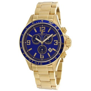 Oceanaut Men's Baltica Blue/ Gold Watch