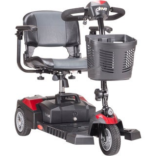 Drive Medical Scout DLX 3 Wheel Compact Travel Scooter