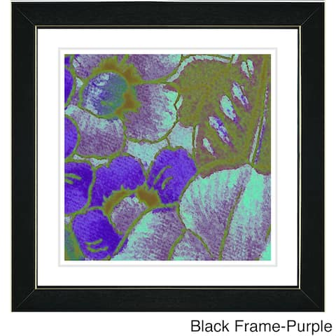 Zhee Singer 'Floral Conjucation' Framed Art Print