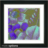 Zhee Singer 'Floral Conjucation' Framed Art Print