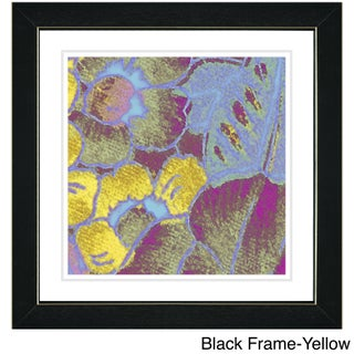 Zhee Singer 'Pastel Floral Conjucation' Framed Art Print (More options available)