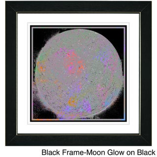 Zhee Singer 'Moon Glow' Framed Art Print (More options available)
