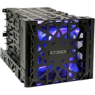 Icy Dock MB074SP-B Drive Enclosure Internal - Black