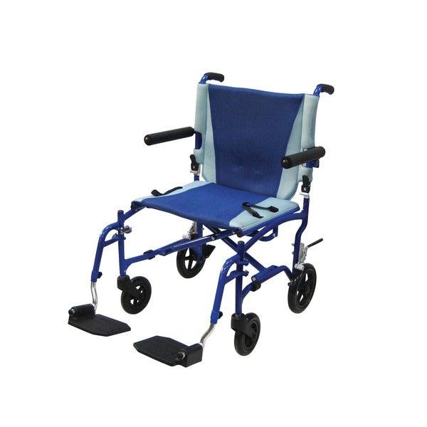 Drive Medical TranSport Aluminum Transport Wheelchair