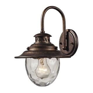 Searsport Regal Bronze 1-light Outdoor Sconce