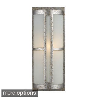 Trevot Sunset Silver 1-Light Outdoor Wall Mount
