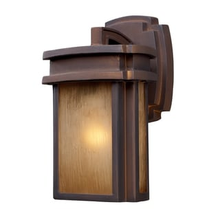 Sedona 1-light Hazelnut Bronze Outdoor Sconce