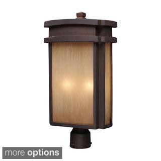 Clay Bronze Outdoor Post Light