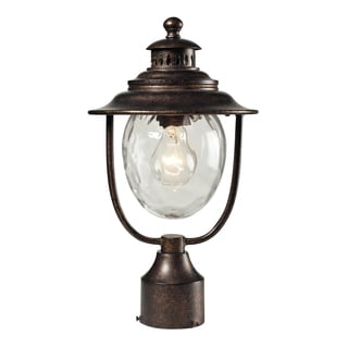 Searsport 1-light Regal Bronze Post Mount