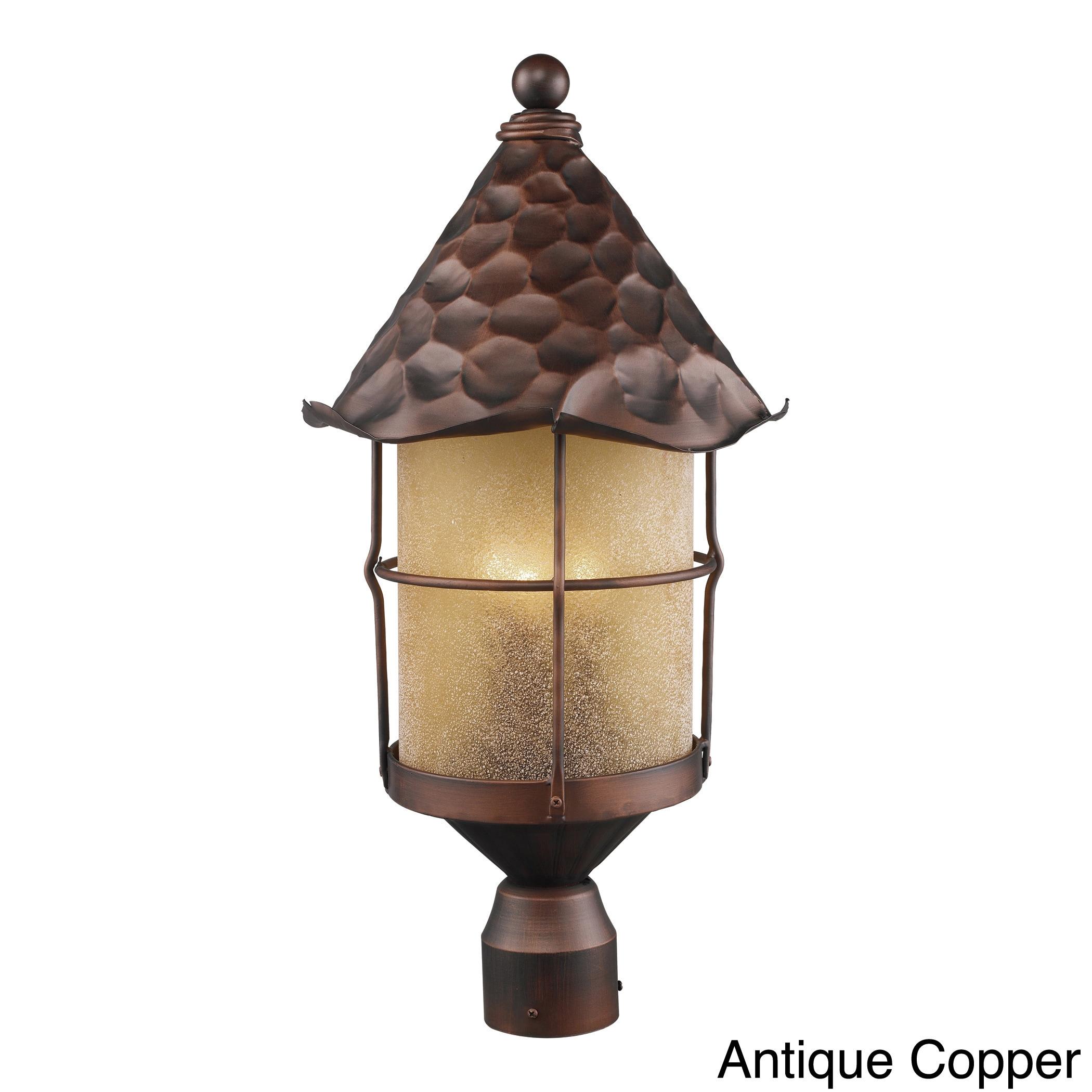 Elk Lighting Rustica 2-light Outdoor Post (Matte Black) (...