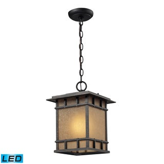 Newlton 1-light Weathered Charcoal Outdoor Pendant