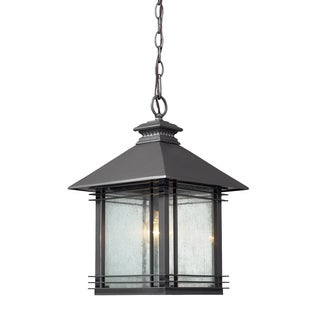 1-light Graphite Outdoor Pendant