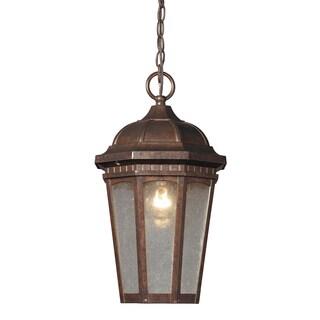 Fullerton 1-light Hazelnut Bronze Outdoor Pendant Light
