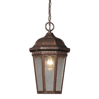 Fullerton 1-light Hazelnut Bronze Outdoor Pendant Light