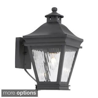 'Camden' Charcoal Finish Transitional 1-light Outdoor Lantern