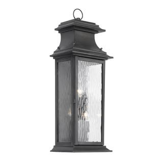 Transitional Outdoor Lighting Elk lighting outdoor lighting for less overstock provincial 3 light charcoal finish transitional outdoor lantern workwithnaturefo