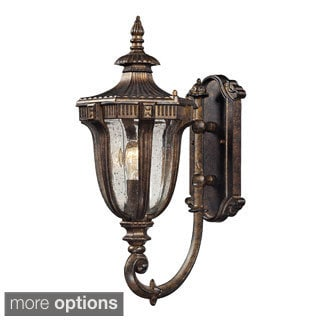 Sturgess Castle' Regal Bronze Traditional 1-light Outdoor Sconce